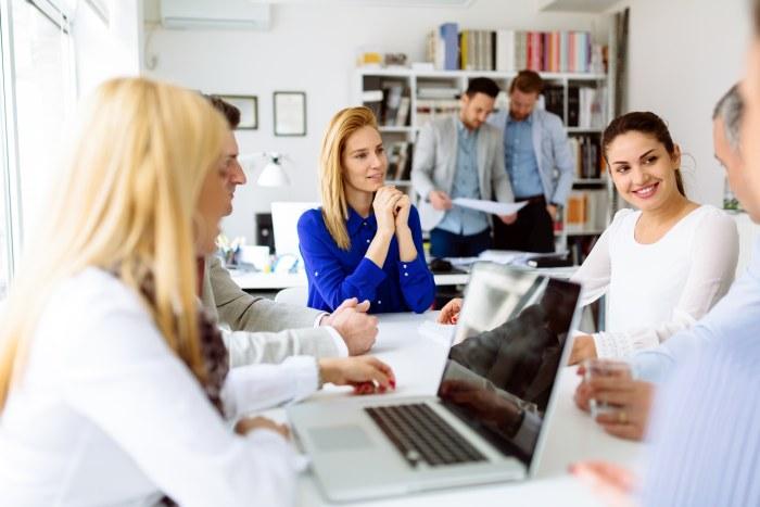 Na spotkaniu w biurze rachunkowym